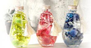 ハーバリウム 丸瓶
